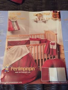 Perlimpinpin Crib Bedding Set