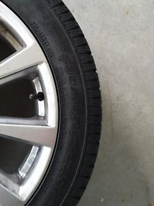 TOYO OBSERVE SNOW TIRES AND ALLOY WHEELS Kitchener / Waterloo Kitchener Area image 3