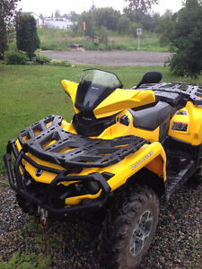 2013 Outlander Max XT 1000 with extremely low KM's. 12500 obo