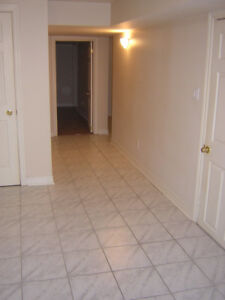 Renovated Basement- $1000 for a small family or 2 Professionals