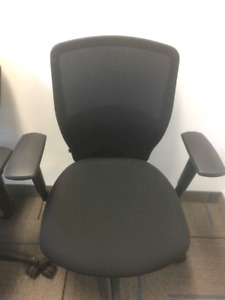 Teknion High Back Mesh Office 3 chairs lot available