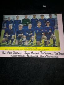 PORTSMOUTH FC TEAM 1967 / 1968