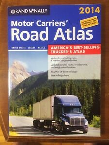 Atlas routier Rand McNally & poche Truck Stop Guide 20$