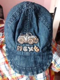 Next Baby Boys Denim Cap - new