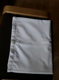 TK maxx white 100% cotton table cloth