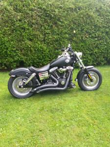 "Harley Davidson FatBob 2009 ""noir mat"""