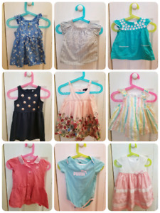 baby girl 12-18m summer clothes
