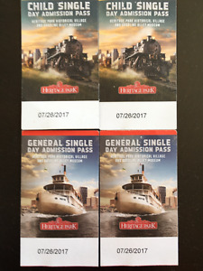 Admission pass to Heritage Park & Gasoline Alley Museum