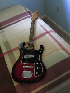 60's Silvertone Electric Guitar