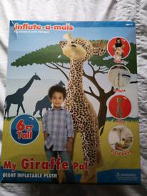 6ft Inflatable Giraffe
