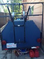 Utility Trailer Ideal for Camping