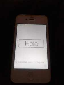 IPHONE 4S (UNLOCKED SIM)$75 O.B.O