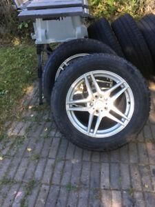 235/ 60 R17 - Mercedes Rims & Tires