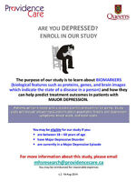 Depression Research Study