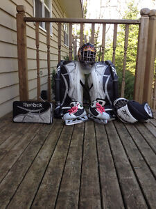 Lots of Pieces of Hockey Gear Ranging in Price. Contact for More