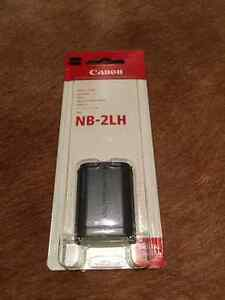 Genuine canon nb-2lh battery