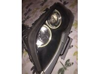 SOLD Original Bmw E46 M Sport Pair Head Lights Angel Eyes Led Xenon Signal Set UK