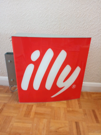 Illy coffee Shop sign
