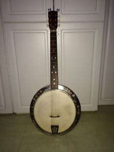 Vintage Framus 6 string banjo