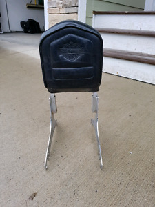 Motorcycle backrest
