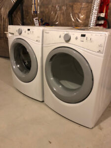 (Brand New) Amana Washer and Dryer Package