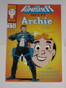 Punisher meets Archie#1 comic book
