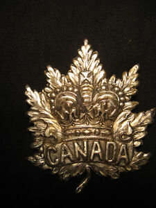 Wanted: World War 1 Cap Badges, Medals ~ Wanted ~ London Ontario image 2