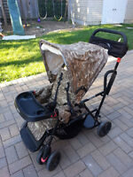 USED AS IS Joovy Caboose Double Stroller