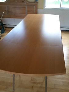 Beech Dining Room Table & Chair Set