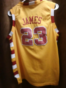 NBA Cavaliers #23 James basketball jersey size M/ youth X large