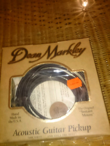 Dean markley acoustic guitar pickup