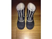 WINTER/SNOW BOOTS - childrens size 9