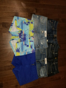 American Eagle and Hollister shorts