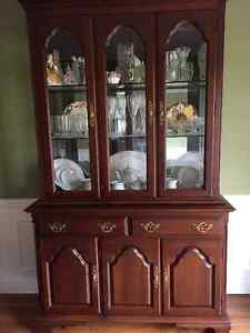 ROXTON Dining Room Table with 6 Chairs, Buffet & Hutch For Sale Sarnia Sarnia Area image 2