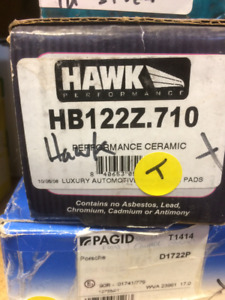 Hawk Brake pads for 2007 Ford Mustang Saleen S281 extreme
