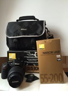 Mint - NIKON D5100 - Used only twice!