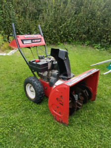 8hp mastercraft snowblower electric start