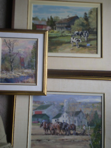 Peter Etril Snyder Original Paintings