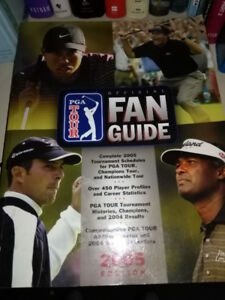 Book - PGA Tour Fan Guide 2005 - NEW NEW PRICE