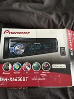 Almost New 2013 Pioneer DEH-X6650 Car Audio System