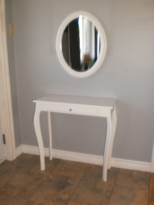 Wall Table & Mirror