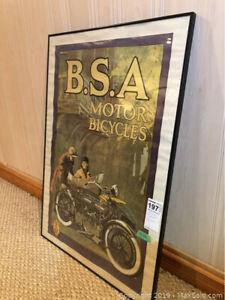 BSA poster