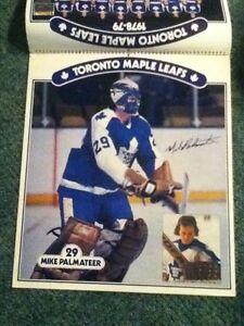 1978-79 Toronto Maple Leafs calender / posters. Man cave Peterborough Peterborough Area image 3