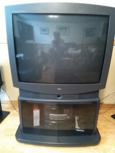 "29"" SANYO TV with stand"