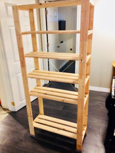 IKEA (HEJNE) Pine Storage Shelving Unit - $30