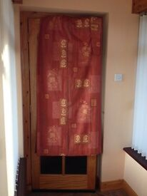 Terracotta curtains