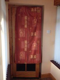 Terracotta curtains