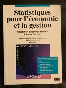 Statistiques pour l'économie et la gestion 7e édition