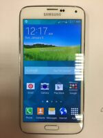 Samsung S5 Mint Condition White Rogers