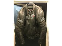 Leather jacker